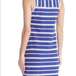 NWT Max Studio Sleeveless cotton scoop neck dress